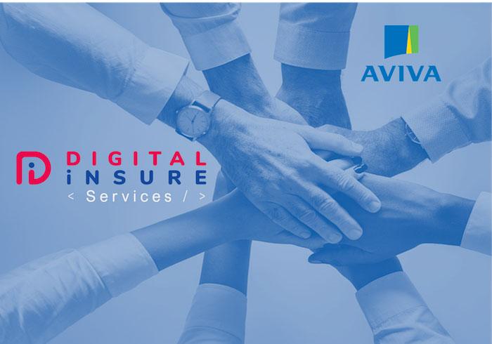 Digital Insure met en place un parcours digital complet pour l'offre emprunteur de l'assureur Aviva France