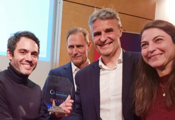 Digital Insure remet à Libeo le prix de la Fintech de l'année 2019