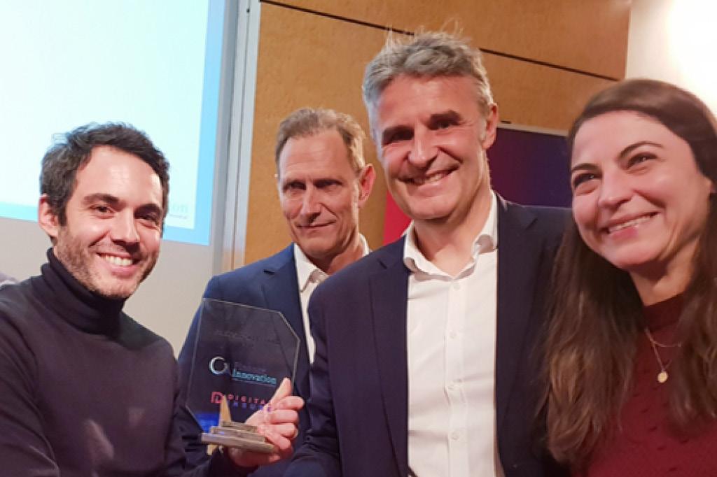 Digital Insure remet à Libeo le prix Fintech 2019