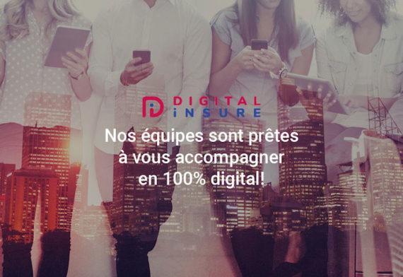 Nos équipes Digital Insure vous accompagne en assurance emprunteur et prévoyance individuelle 100% digital