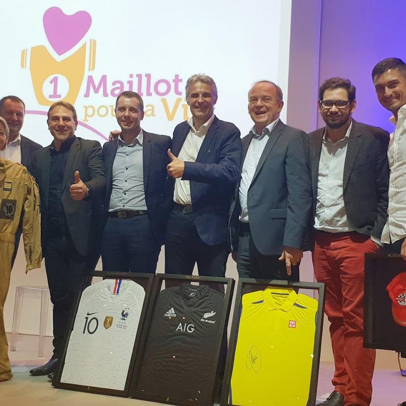 Digital Insure mécène de 1 Maillot pour la Vie