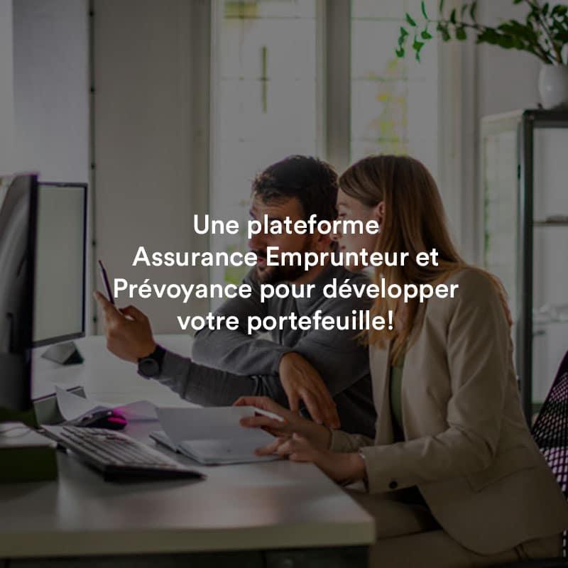 La plateforme Assurance Emprunteur et Prévoyance de Digital Insure